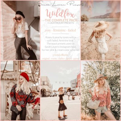 Wildfox Complete Pack - Sarah Loven Presets